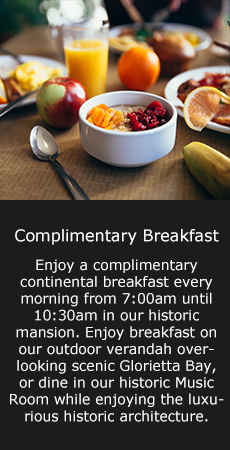 Image of the Breakfast hotel offers